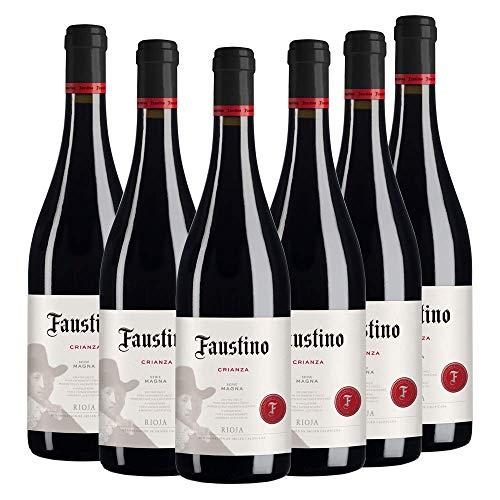 Vino Tinto Rioja Faustino Crianza Serie Magna | 6 Botellas