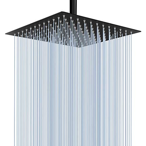 Rain Shower Head - Voolan 12 Inches Large Rainfall Shower Head Made of 304...