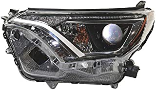 Koolzap For 16-18 RAV4 Front Headlight Headlamp Projector Head Light w/Bulb Driver Side