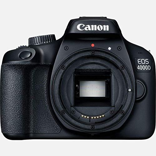 entry level slrs Canon EOS 4000D DSLR Camera Body Only International Model (Renewed)
