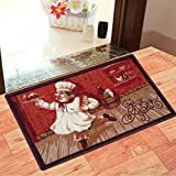 Status Door Mat for Home/Living/Lobby/Bathroom/Office Entrance with Anti Slip Backing(15x23inch)