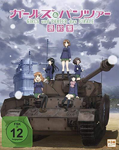 Girls und Panzer-Das Finale-Teil 1-Limited Edition im Sammelschuber [Blu-Ray] [Import]