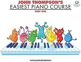 John Thompson's Easiest Piano Course - Part 1 - Book/Audio