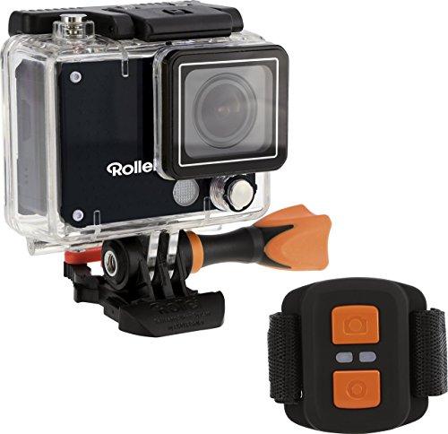 Rollei Actioncam 420 - 12 Megapixel WiFi Actioncam-Camcorder mit 4K/2K Videoauflösung sowie Full HD Videofunktion schwarz
