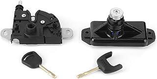 Motorhaubenschloss Kit, 6C1A 16D748 AB Motorhaubenschloss Verriegelungszylinder mit 2 Schlüsseln, passend für Transit MK7 2006 2011