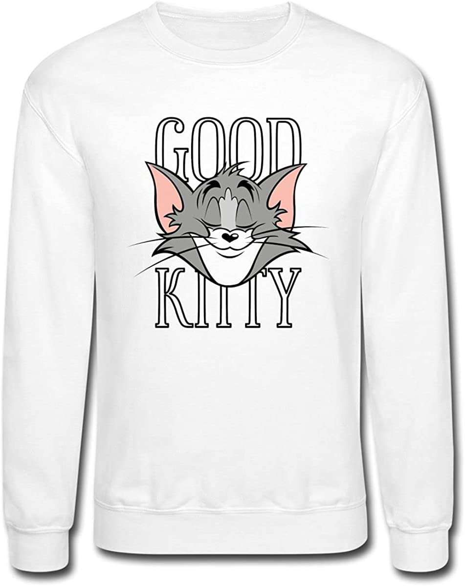 Super special price Spreadshirt Tom and Jerry Kitty Crewneck Good Sweatshirt Superior