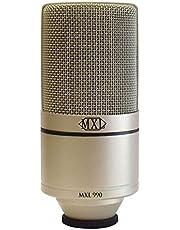 MXL Mics 990، XLR ميكروفون مكثف (MXL990)