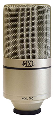 MXL 990, XLR Connector Condenser Microphone. Buy it now for 0.00
