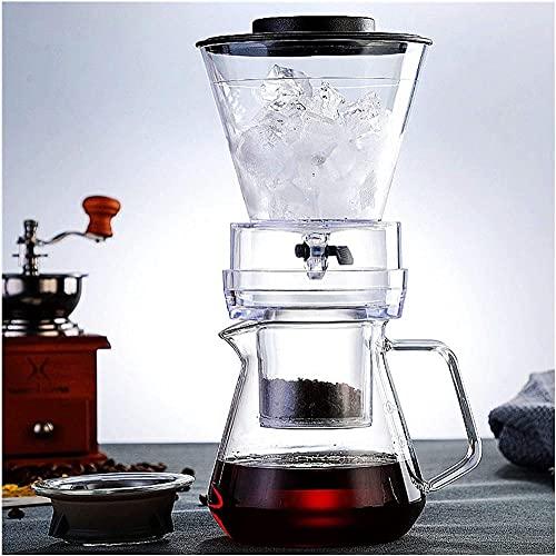 Filtro de café de hielo Percoladores de vidrio Espresso Cocina baristaTools goteo olla hielo frío café fabricante