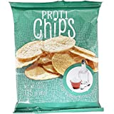 ProtiWise - Sea Salt & Vinegar Chips | Healthy Delicious Potato Snack | 7 Bags | Gluten Free - High Protein - Low Calorie - Low Carb, High Fiber