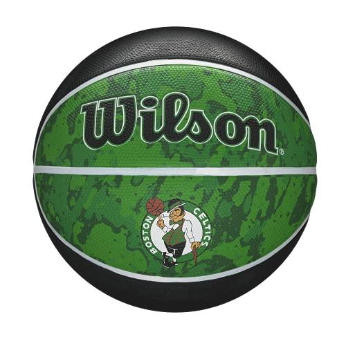Wilson NBA Team Tiedye Basketball - Size 7 - 29.5', Boston Celtics