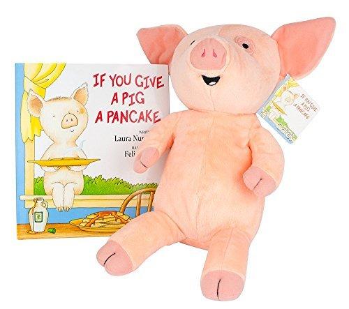 Kohls Cares 2015 If You Give A Pig A Pancake Book & Plush set by BrickBrats Gift Bundle