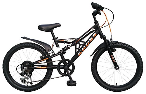 Kross 20T6S Hunter Bicycle, (Matt Black)