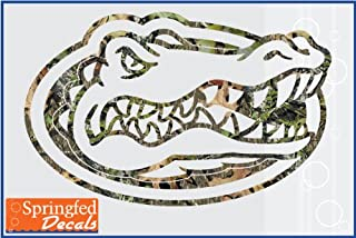 camo gator decal