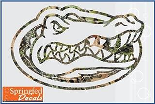 Florida Gators CAMO GATOR HEAD LOGO 12