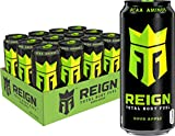 Reign Total Body Fuel, Sour Apple, Fitness & Performance Drink, 16 Fl Oz (Pack of 12)...
