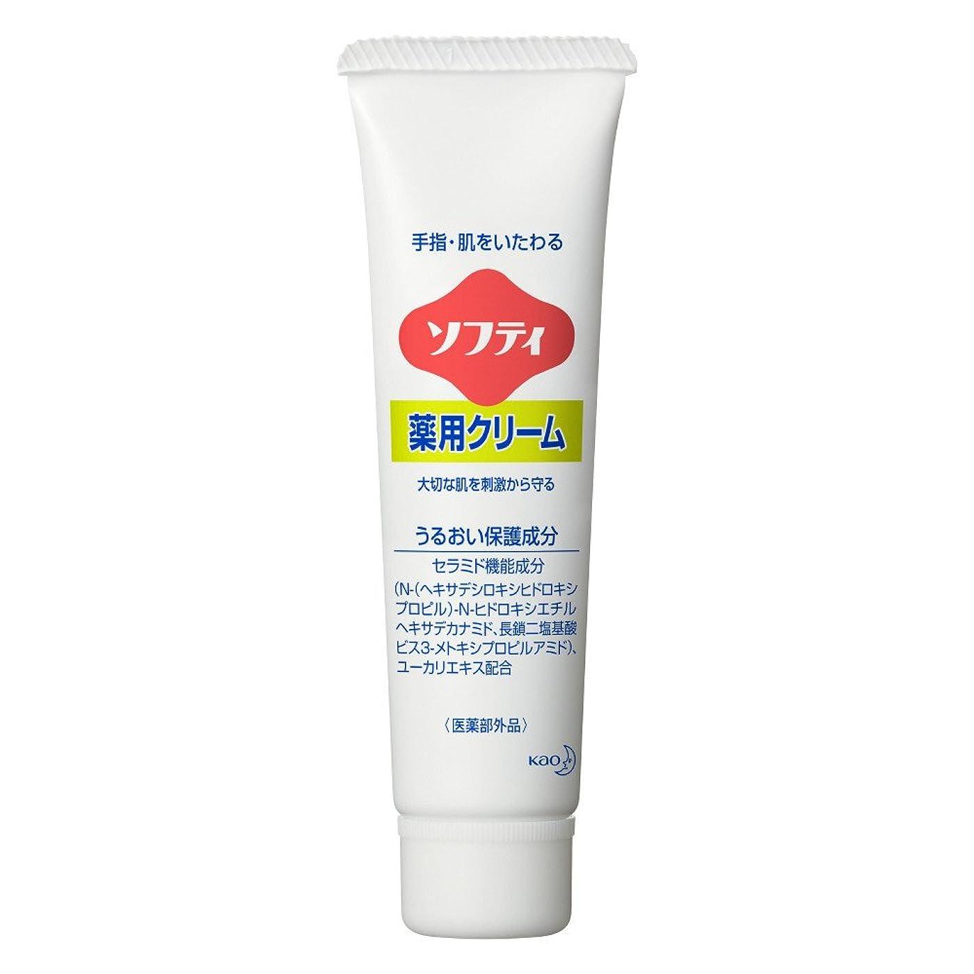 生息地夜シリアルソフティ 薬用クリーム 35g (花王プロフェッショナルシリーズ)