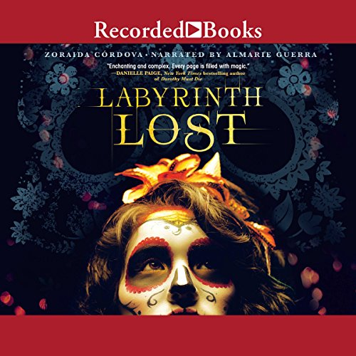 Labyrinth Lost audiobook cover art