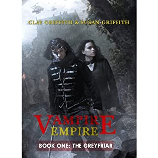 Vampire Empire - The Greyfriar audiobook cover art