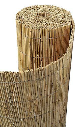 Sodipa Canisse paillon de Bambou Non pelé 1,5 x 5 m