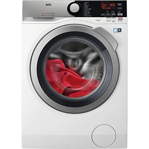 AEG L7WEE962 Independiente Carga frontal A Blanco lavadora - Lavadora-secadora (Carga frontal, Independiente, Blanco, Izquierda, Botones, Giratorio, LED)