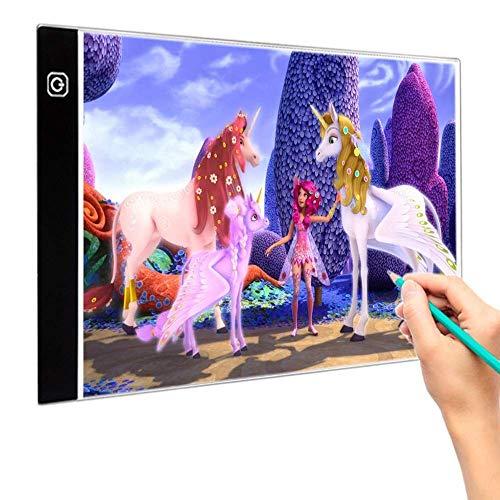 Diamond Painting A4 Led Light Pad, Een Dimbaar Lichtbord Met USB-Kabel, Tracking Lightbox Voor Anime Kalligrafie Schrijven En Tekenen