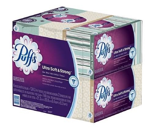 puffs extra strong tissues - 4