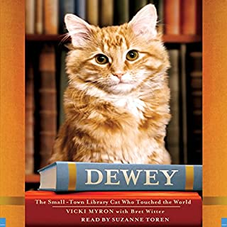 Dewey audiobook cover art