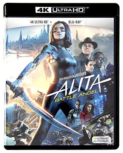 Alita: Battle Angel 4K UHD [Blu-Ray] [Region Free] (Deutsche Sprache. Deutsche Untertitel)