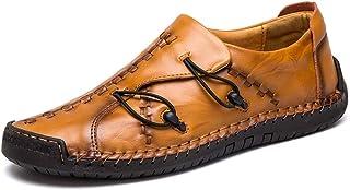 AONEGOLD® Penny Loafers Respirant d'affaires pour Homme Oxfords Ville Casual Souple Conduite Bateau Chaussures Loisir Manu...