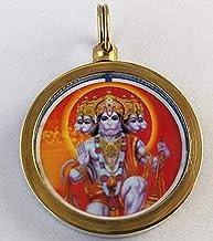 Satisfactory Nation Shree Hanuman Panchmuckhi Yantra Mantra Pendant Shri Hanuman Panchmukhi Raksha Kawach Yantram Locket H...