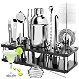 RATEL Cocktail Shaker Set, 18 Pezzi Set Professionale per Cocktail Shakers Bar per Feste A...