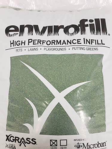Coated Green Silica Sand Infill for Synthetic Turf 50lbs of 12/20