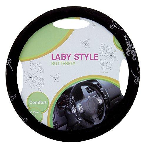 "UNITEC 73104 Lady Style Lenkradhülle \""Butterfly\"""
