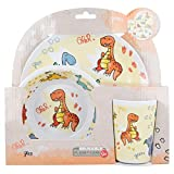 Stor Dinosaurs BPA Free Melamine 3pcs Dinner Set Plate, Bowl & Cup