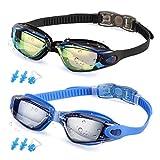 Best Swim Goggles - RGIOMA Swim Goggles, Pack of 2 Swimming Goggles Review