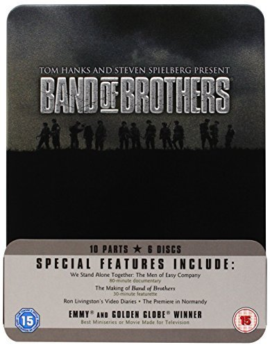 Band Of Brothers - Complete HBO Series: Commemorative Gift Set Steel Tin [UK Import]