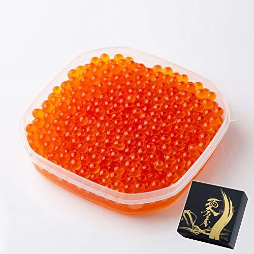 訳あり OWARI いくら 醤油漬け 北海道産 鮭卵 冷凍 500g ギフト化粧箱入