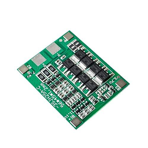 XUQIANG Original 3S 25A Li-Ion 18650 BMS PCM Tablero de protección de batería BMS PCM con Balance para el módulo de Paquete de células de batería LIPO Li-Ion Traje de módulo