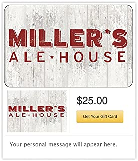 Miller's Ale House - E-mail Delivery