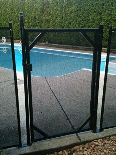 "WaterWarden Fencing, Easy DIY Installation, WWG301, 5' (60"" H), Black"