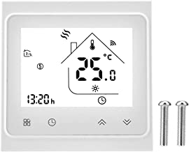 BTER Thermostat Controller Thermostat, Smart Home Thermostat Homekit Thermostat Smart Thermostat, LCD for Home Wall Hangin...