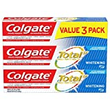Colgate Total Whitening Toothpaste Gel - 4.8 ounce (3 Pack)