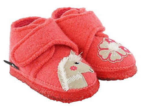 Nanga Unisex - Kinder Little Unicorn Niedrige Hausschuhe, Pink (Fuchsia 28), 24 EU