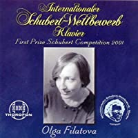 First Prize Schubert Competition 2001
