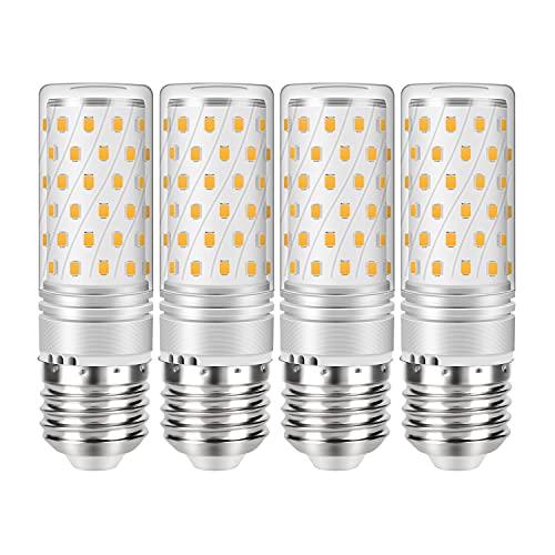 Gikkali Lampadina LED E27 12W Equivalenti a 120W Incandescenza, Bianca Naturale 4500K 1200LM Alta luminosità e Risparmio Energetico Non Dimmerabile, 4 Pezzi