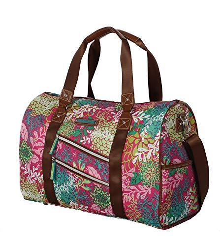 Lily Bloom, Damen Satchel-Tasche Pink Floral Reef Einheitsgröße
