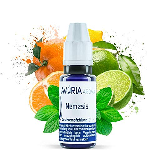 Avoria Aroma Nemesis (12 ml) (Zitronensaft mit Menthol)