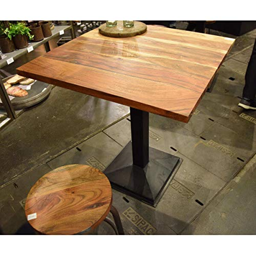 MATHI DESIGN Bodega - Table Carree Bois/Acier