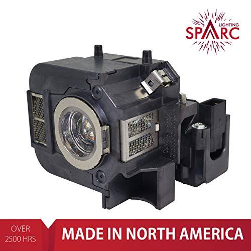 SpArc Lighting for Epson ELPLP50 / V13H010L50 fits EB-824 EB-825 EB-826W EB-84 EB-84e EB-84he EB-85 EMP-825 EMP-84 EMP-84he H294B H295A H296A H297A H353A H353B H353C H354C H355B H355C H356C H357C